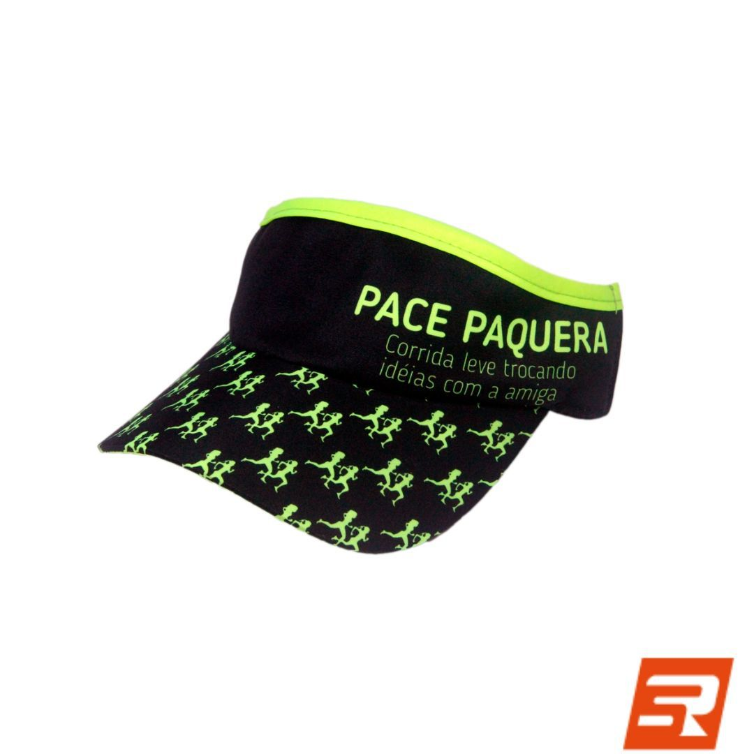 Viseira com Elásticos - Pace Paquera Neon | FAST PACE
