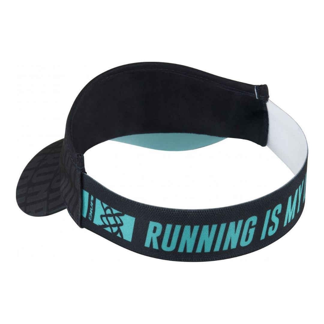 Viseira com Elásticos - Running Is My Life | HUPI