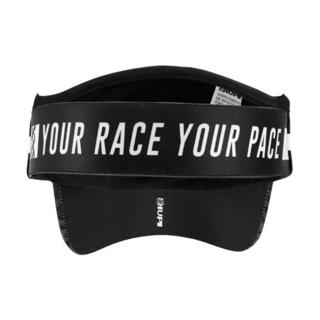Viseira com Elásticos - Your Race, Your Pace   HUPI
