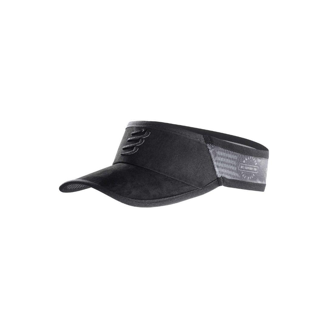 Viseira Ultralight Spiderweb Black Edition | COMPRESSPORT