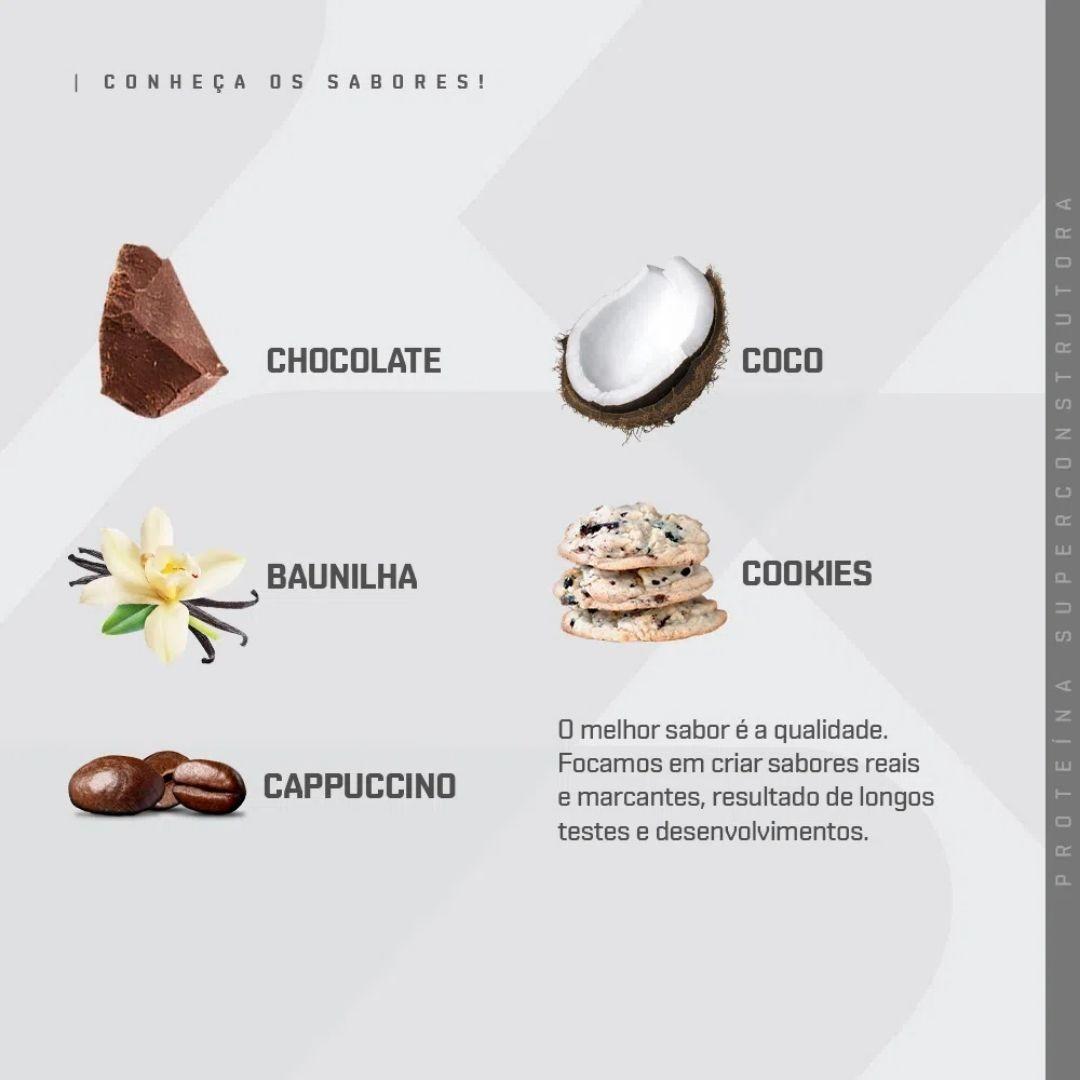 Whey Concentrado - 5 Sachês | DUX