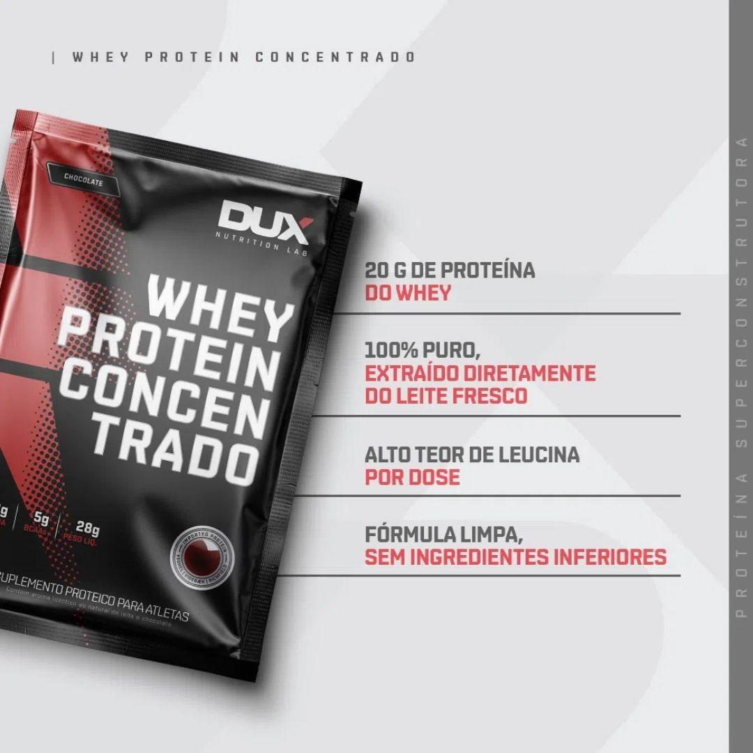 Kit 5 Sachês - Whey Concentrado | DUX