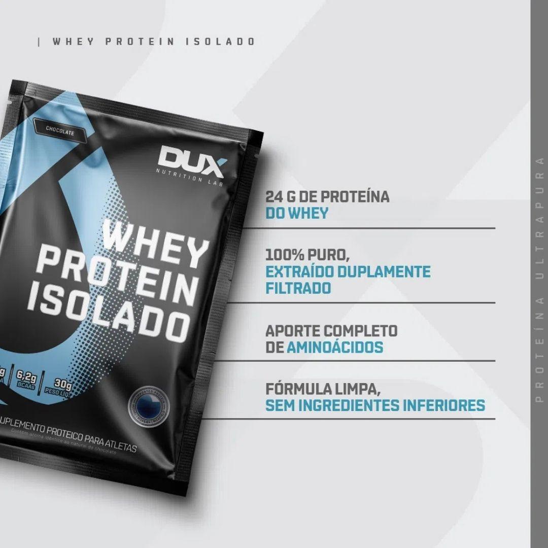 Whey Isolado - 4 sachês | DUX