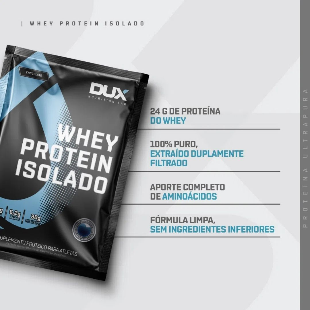 Whey Protein Isolado Sachê | DUX