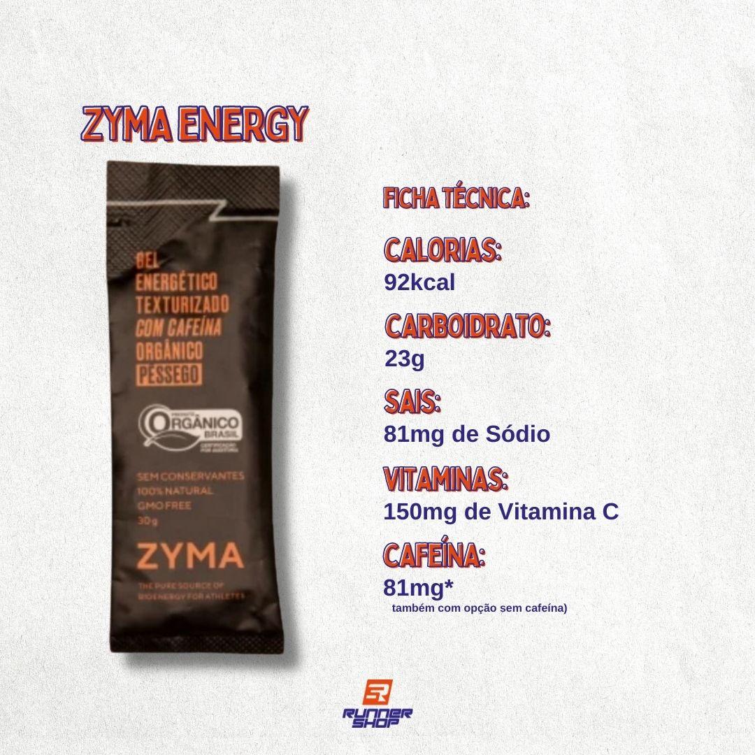 Zyma Energy Gel Sem Cafeína | ZYMA