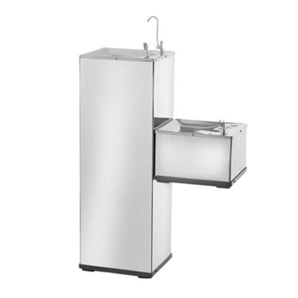 Bebedouro de Água Modelo K40CI Conjugado Inox - Karina