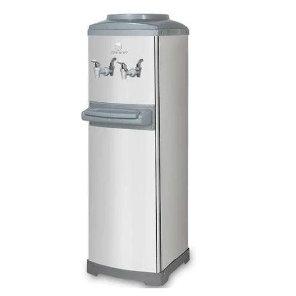 Bebedouro Refrigerado Por Compressor De Coluna Aço Inox K10 Galão