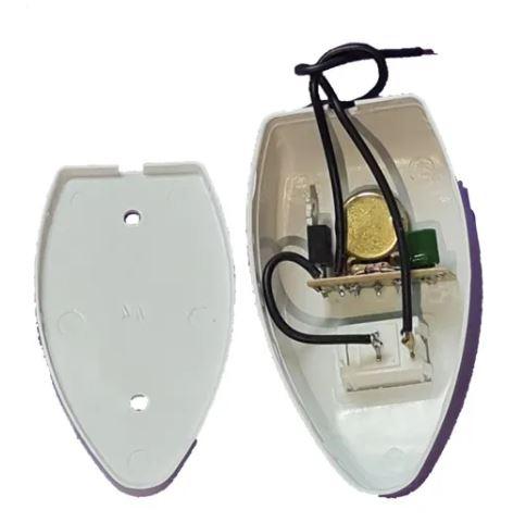 Chave De Controle Ventilador De Parede Oscilante Com Interruptor Liga / Desliga