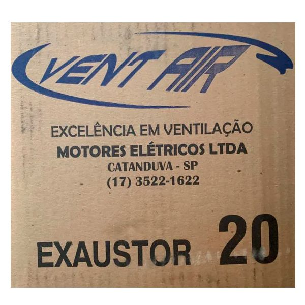 Exaustor Axial 20 cm Alta Vazão / Alta Rotação