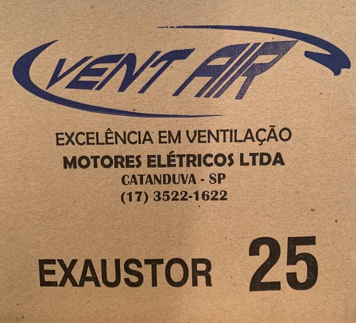 Exaustor Axial 25 cm Alta Vazão / Alta Rotação