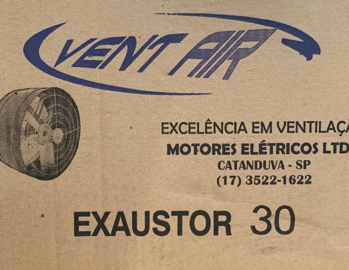 Exaustor Axial 30 Cm ALTA VAZÃO Bivolt