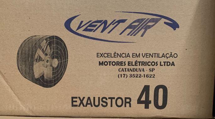 Exaustor Axial 40 Cm ALTA VAZÃO Bivolt