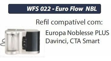 Filtro Refil Euro Flow NBL WFS 022 ( Da Vinci, Noblesse  Plus, Cta Smart )