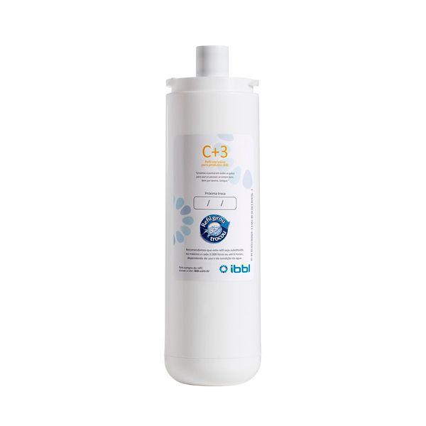 FILTRO REFIL IBBL C+3 para Purificador de Água IBBL