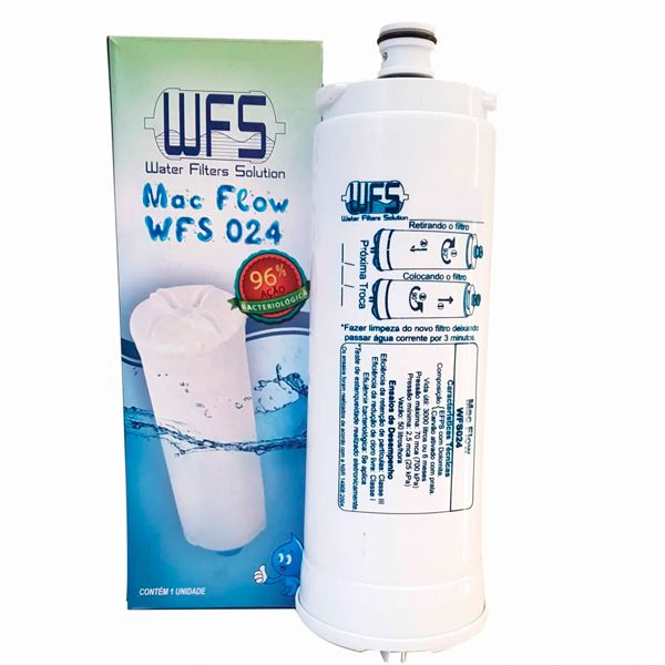 Filtro Refil Para Purificador Newup / Newmaq - Mac Flow WFS 024
