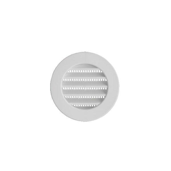 Grade de ventilação ITC Plástica para duto de 100 mm GR 100