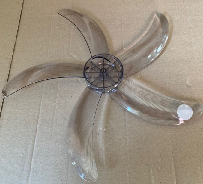 Hélice de Acrilico Para ventilador Neptuno