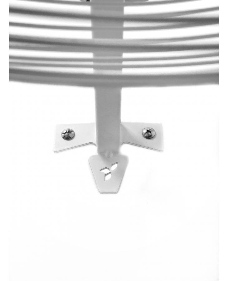 Ventilador De Parede Vpl 65cm Branco Bivolt Ventisilva
