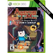 Adventure Time Explore the Dungeon Because I Don't Know! - Xbox 360 (Seminovo)