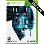 Aliens Colonial Marines - Xbox 360 (Seminovo)