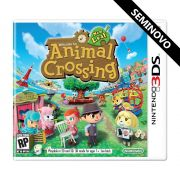 Animal Crossing New Leaf - 3DS (Seminovo)