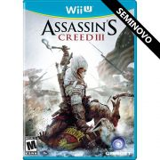 Assassin's Creed III - Wii U (Seminovo)