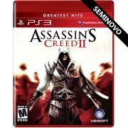 Assassin's Creed II - PS3 (Seminovo)