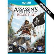 Assassin's Creed IV Black Flag - Wii U (Seminovo)