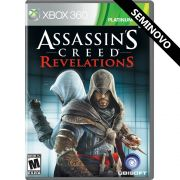 Assassin's Creed Revelations - Xbox 360 (Seminovo)