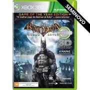 Batman Arkham Asylum - Xbox 360 (Seminovo)