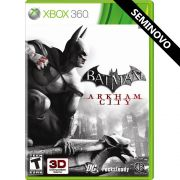 Batman Arkham City - Xbox 360 (Seminovo)