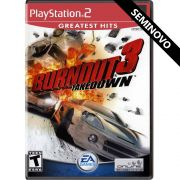 Burnout 3 Takedown - PS2 (Seminovo)