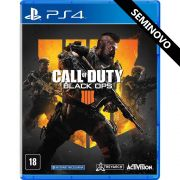 Call of Duty Black Ops 4 - PS4 (Seminovo)