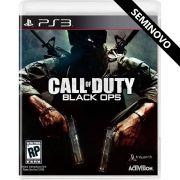 Call of Duty Black Ops - PS3 (Seminovo)