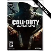Call of Duty Black Ops - Wii (Seminovo)