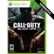 Call of Duty Black Ops - Xbox 360 (Seminovo)