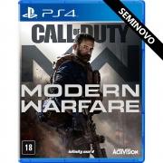 Call of Duty Modern Warfare - PS4 (Seminovo)