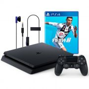 Console Playstation 4 Slim 1TB Pacote FIFA 19