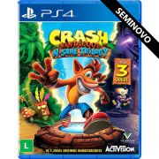 Crash Bandicoot N'sane Trilogy - PS4 (Seminovo)