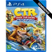 Crash Team Racing Nitro-Fueled - PS4 (Seminovo)