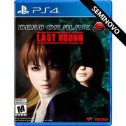 Dead or Alive 5 Last Round - PS4 (Seminovo)
