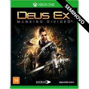 Deus Ex: Mankind Divided - Xbox One (Seminovo)
