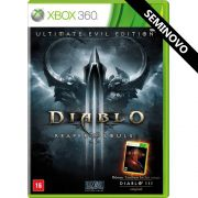 Diablo III Reaper of Souls Ultimate Evil Edition - Xbox 360 (Seminovo)
