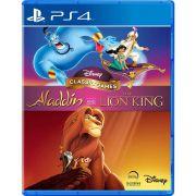 Disney Classic Games: Aladdin e O Rei Leão - PS4