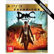 DMC Devil May Cry - PS3 (Seminovo)