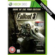 Fallout 3 Game of the Year Edition - Xbox 360 (Seminovo)
