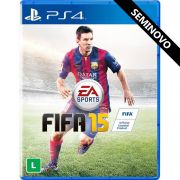 FIFA 15 - PS4 (Seminovo)