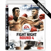 Fight Night Round 4 - PS3 (Seminovo)
