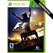 Formula 1 2010 - Xbox 360 (Seminovo)
