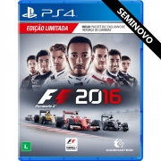 Formula 1 2016 - PS4 (Seminovo)